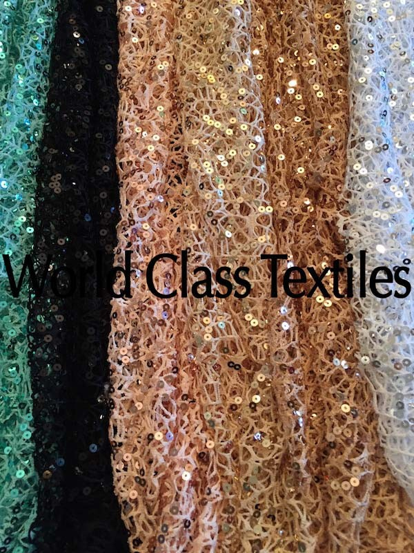 Crochet Sequins Embroidery