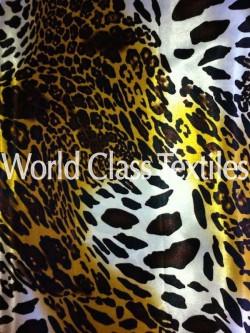 Satin Print Leopard